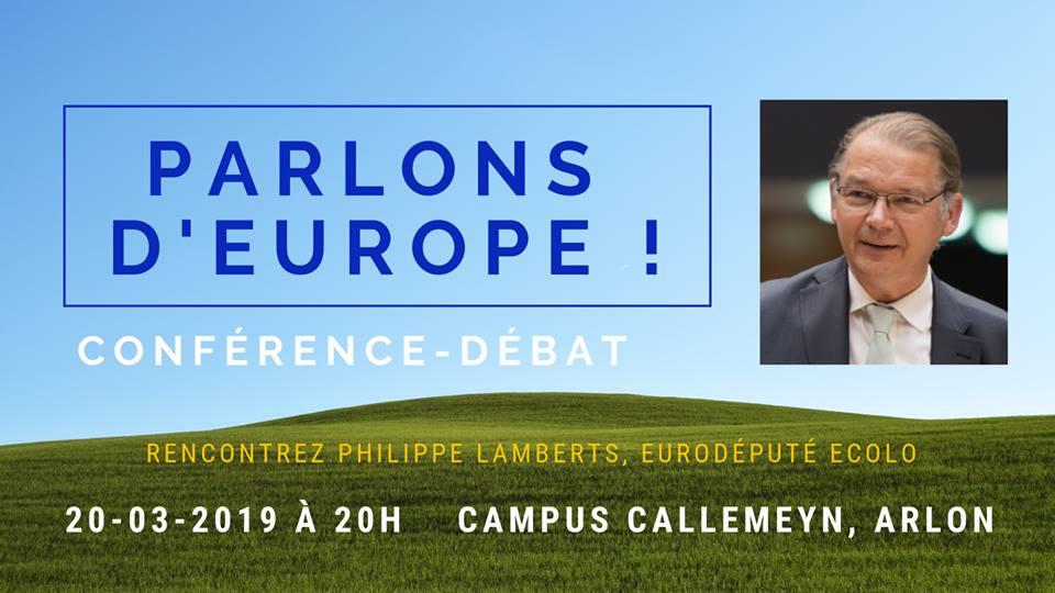 Conférence-débat avec Philippe Lamberts
